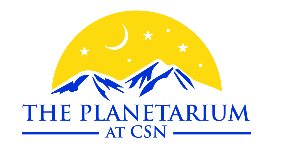 The Planetarium Logo Yellow Background